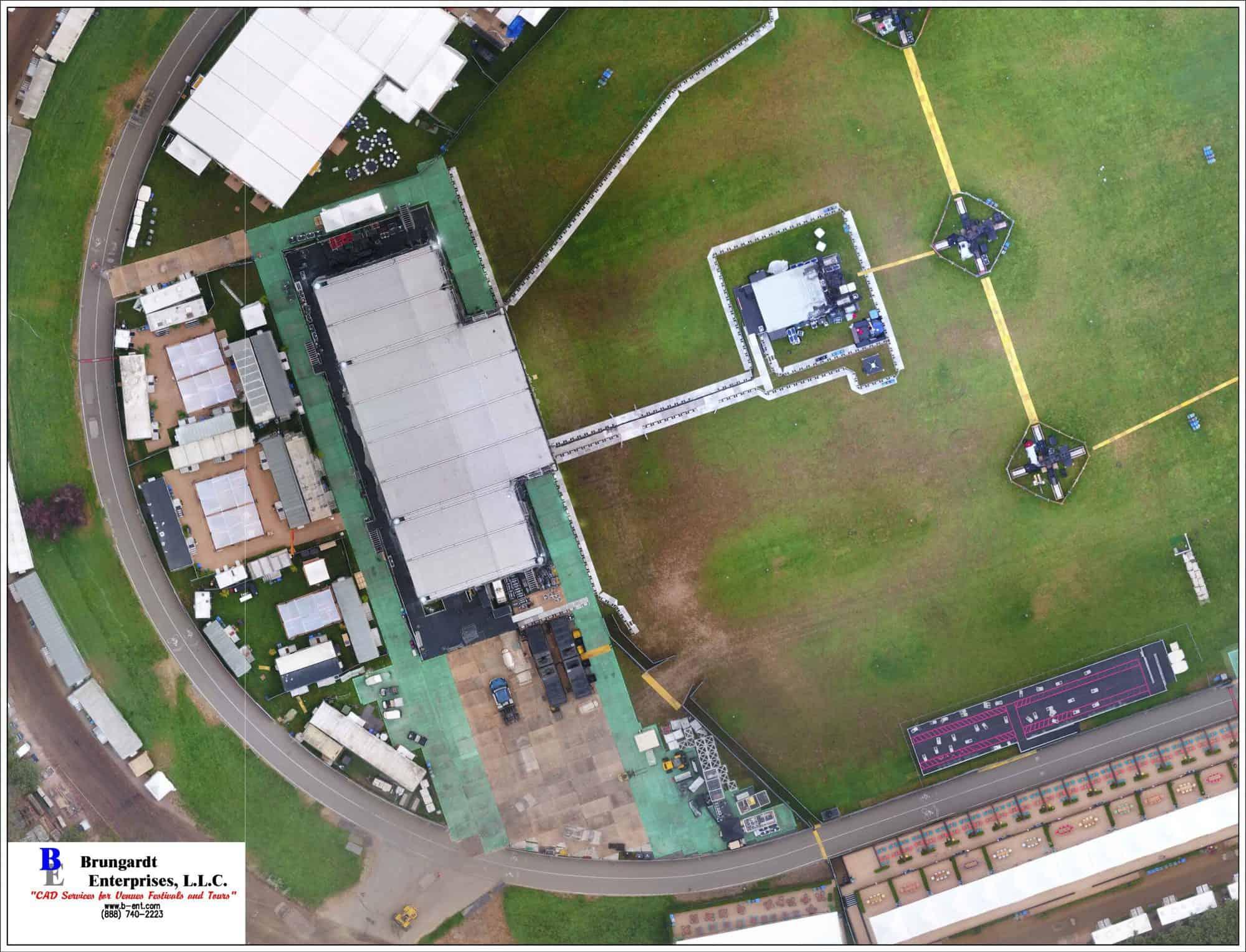 As-Built Aerial Image